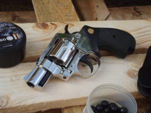 9 mm K kaliberű revolverek