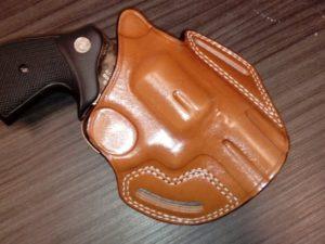 """S&W """"K"""" frame bőr fegyvertok CO 13212"""