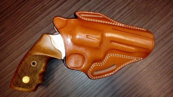 """S&W """"K"""" frame 4"""" bőr fegyvertok CO 13410"""