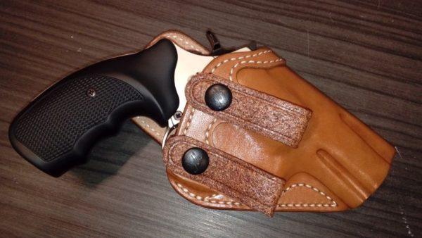 S&W K Frame belső bőr fegyvertok IW 14312