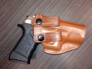 Glock 19/23 bőr fegyvertok IW 14319