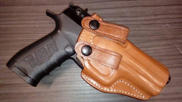 H&K 9/40/45 bőr fegyvertok IW 14345