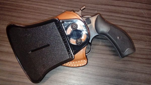 S&W J frame bőr fegyvertok PA 16200