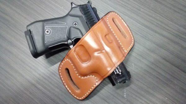 Glock 19/22/23/26/27 Bőr fegyvertok SLD-19519