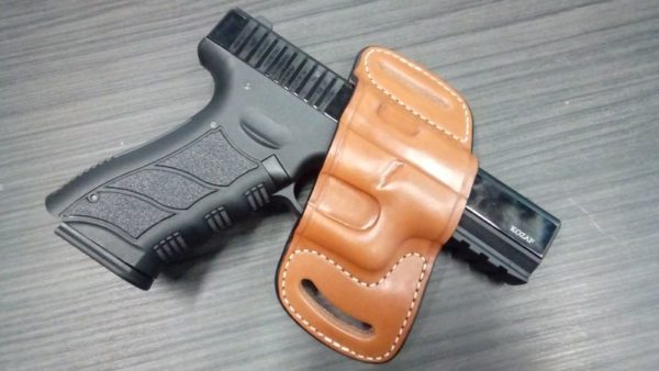 Glock 20/21/29/30/32 Bőr fegyvertok SLD-19521