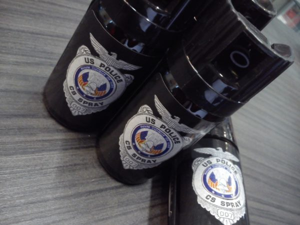 US Police CS gázspray