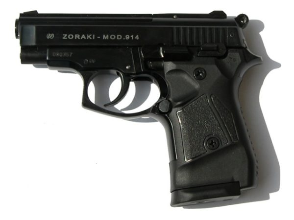 Zoraki 914 A, Fekete színben (Automata)