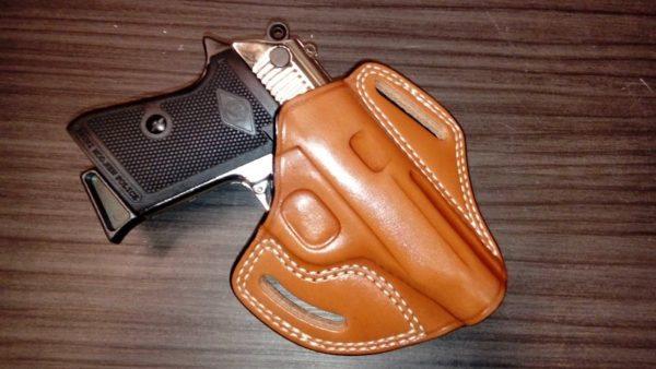 Walther PP/PPK bőr fegyvertok CO 13075