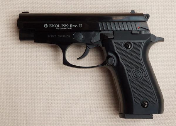 Ekol P29 RevII Fekete
