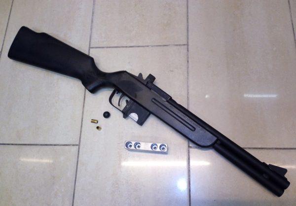 Keserű Omerta T-GAS duplacsövű GUMILÖVEDÉKES puska
